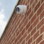 CCTV on side of residential property in Southgate, London
